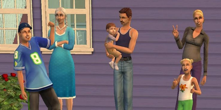 10 Families We Miss From The Sims | Game Rant
