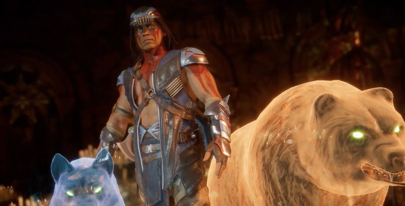 Mortal Kombat 11 Nightwolf Gameplay, Fatalities, and More