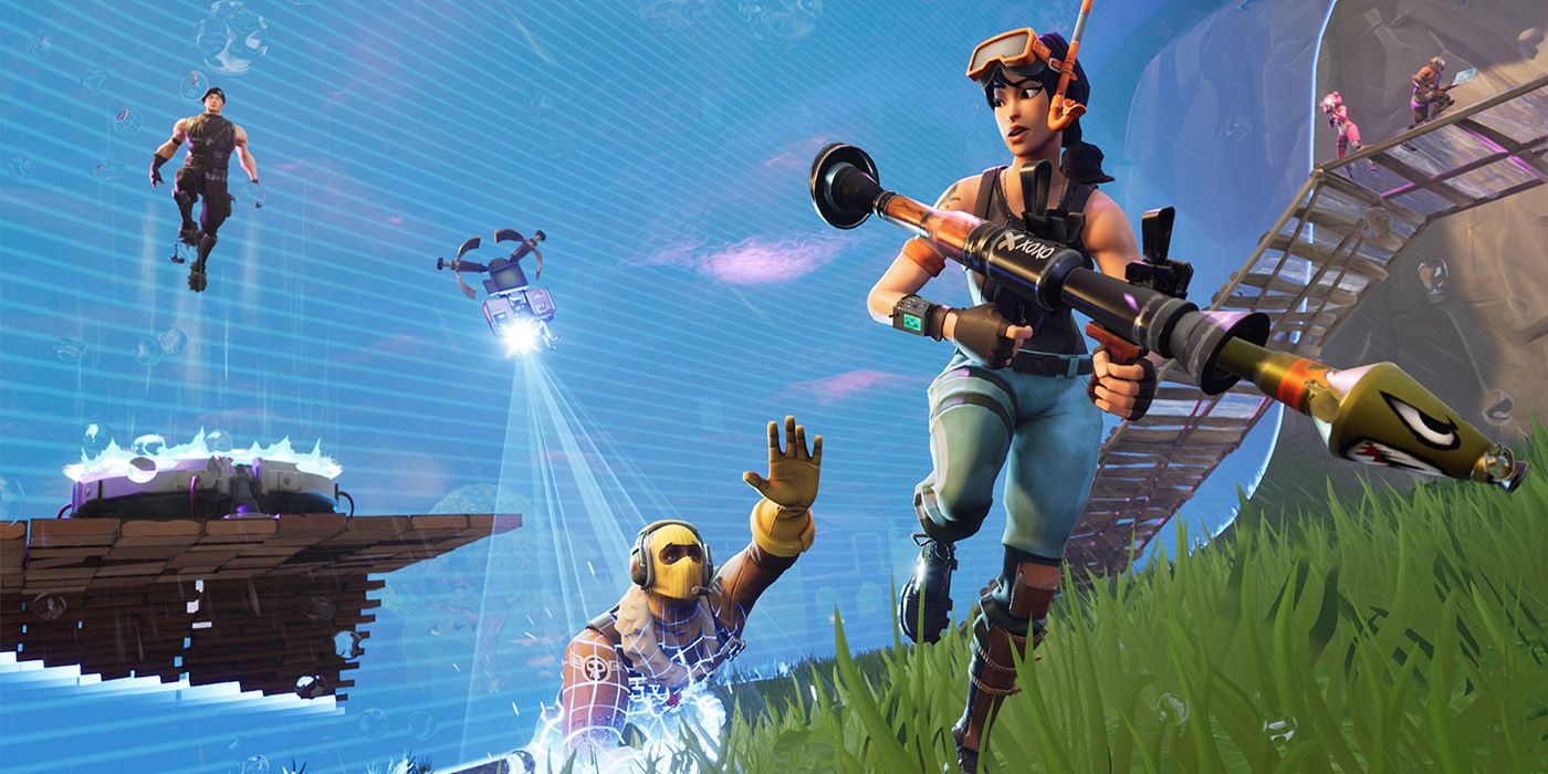 Fortnite How To Play Against Bots Game Rant