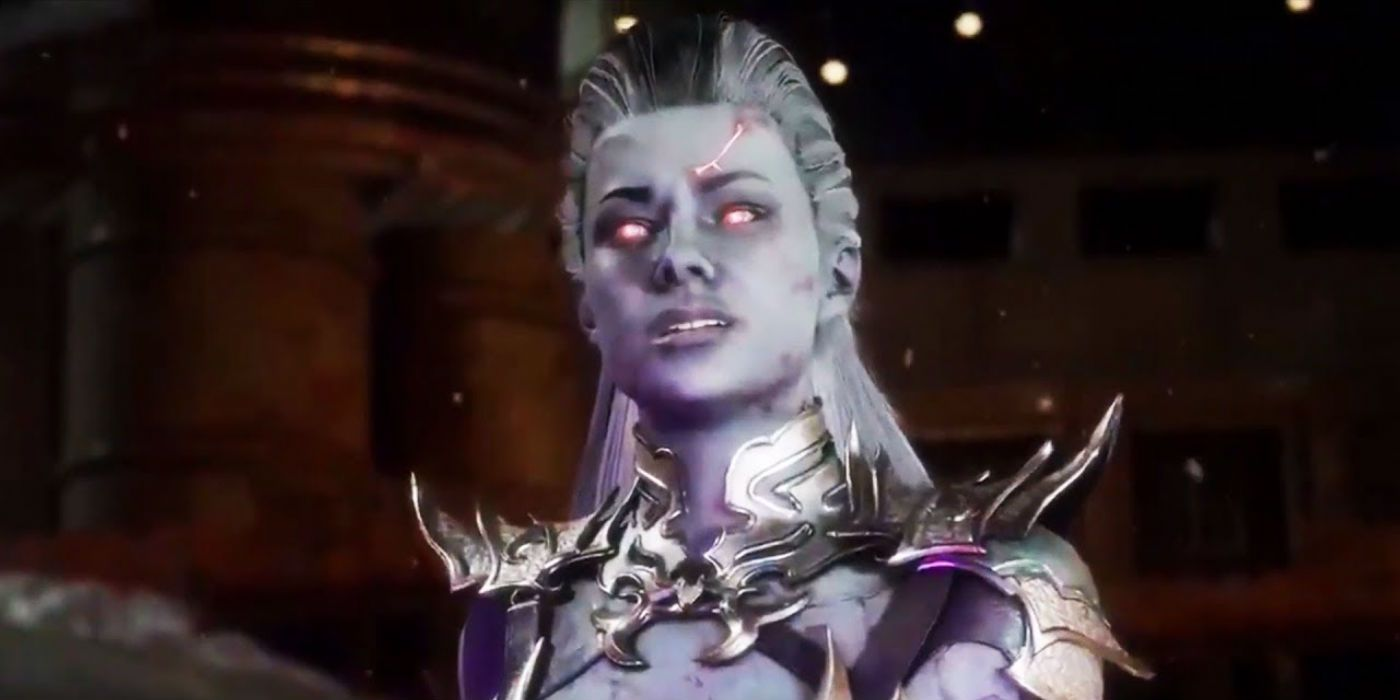 Mortal Kombat 11 Video Shows Interaction Between Sindel and Shao Kahn