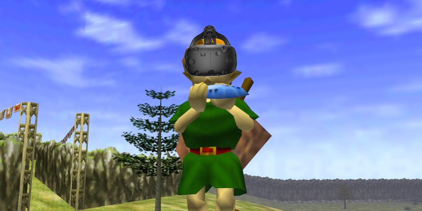 YouTuber Plays Ocarina of Time VR for 24 Hours Straight