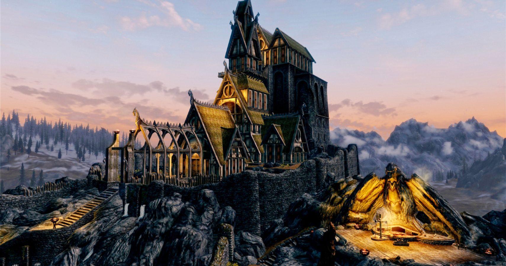 10 Video Game Worlds Bigger Than The Elder Scrolls Skyrim