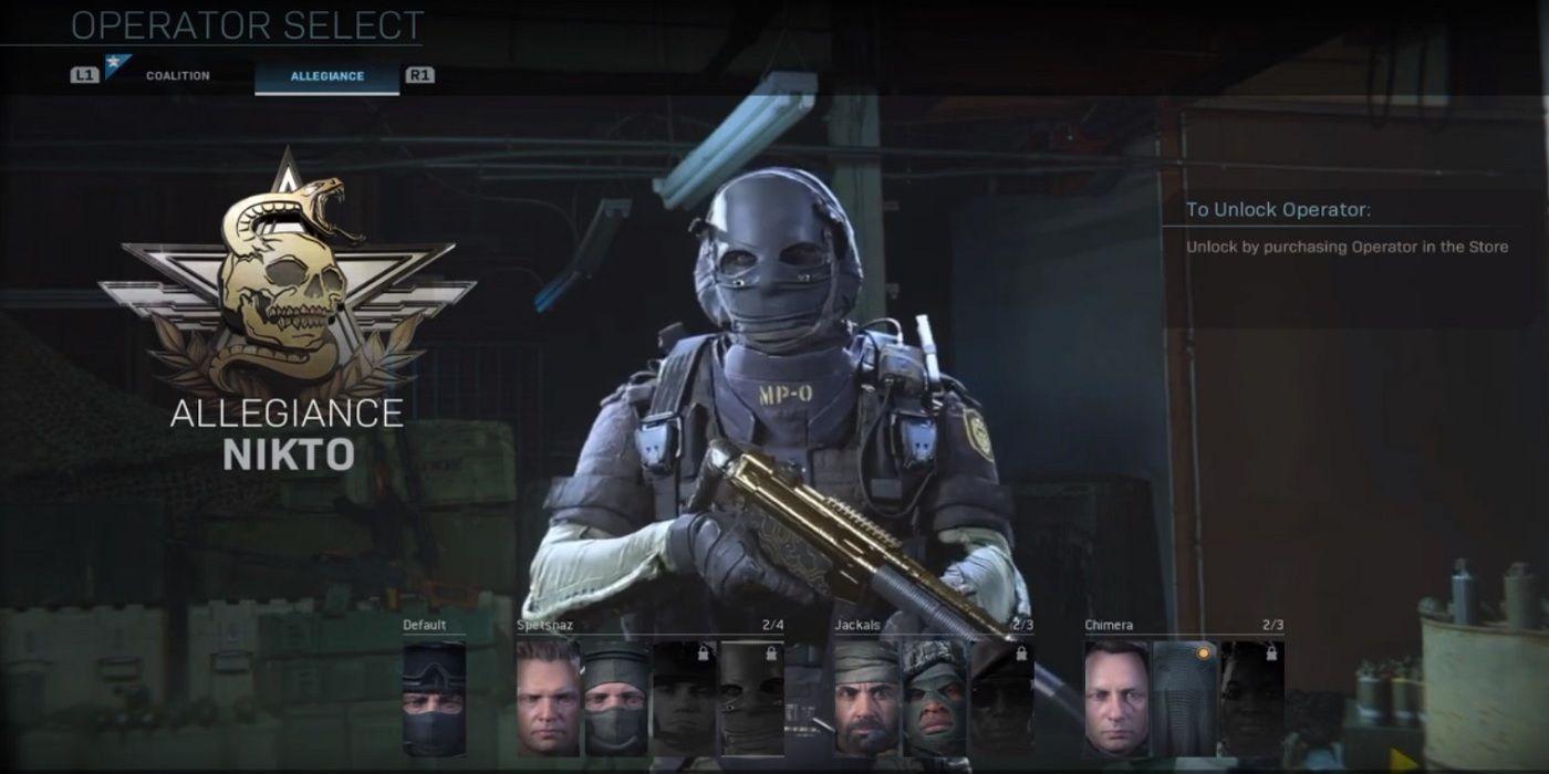 How to Unlock Nikto in Call of Duty: Modern Warfare