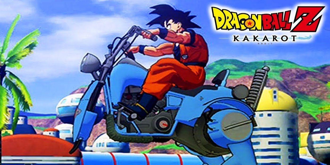 How Dragon Ball Z: Kakarot's Vehicle Customization Works