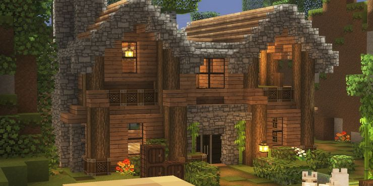 10 Brilliant Minecraft House Ideas Game Rant