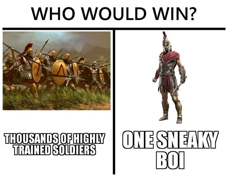 10 Assassin S Creed Odyssey Memes That Every Player Can Relate To
