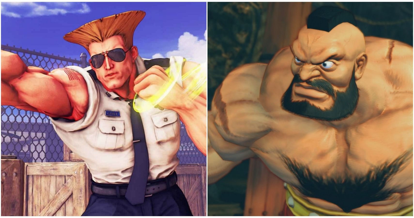 The Ten Most Iconic Character Archetypes In Fighting Games