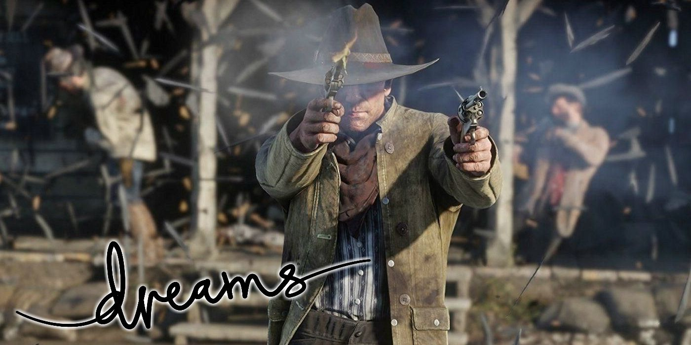 Dreams Player Makes Hilarious Version of Red Dead Online In Game