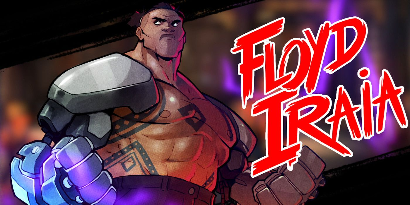 Streets of Rage 4 Trailer Showcases New Character Floyd Iraia and Co-Op Modes