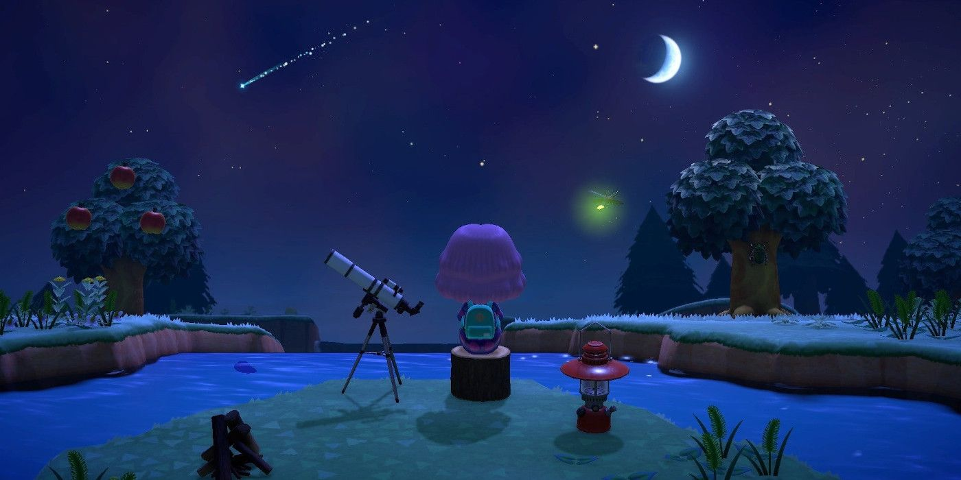 Animal Crossing New Horizons Shooting Stars And How To Get Star
