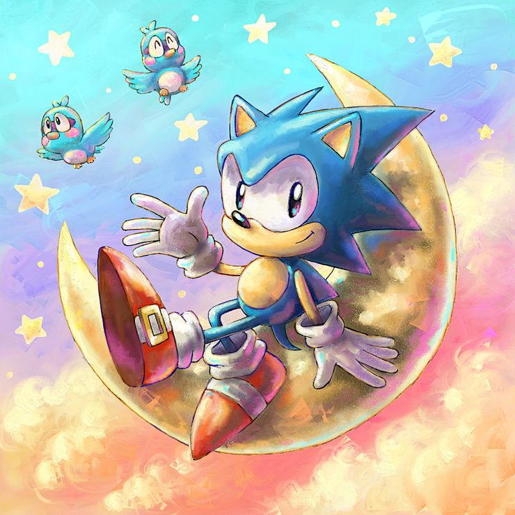 10 Amazing Pieces Of Sonic Fan Art That Speed Up Our Hearts