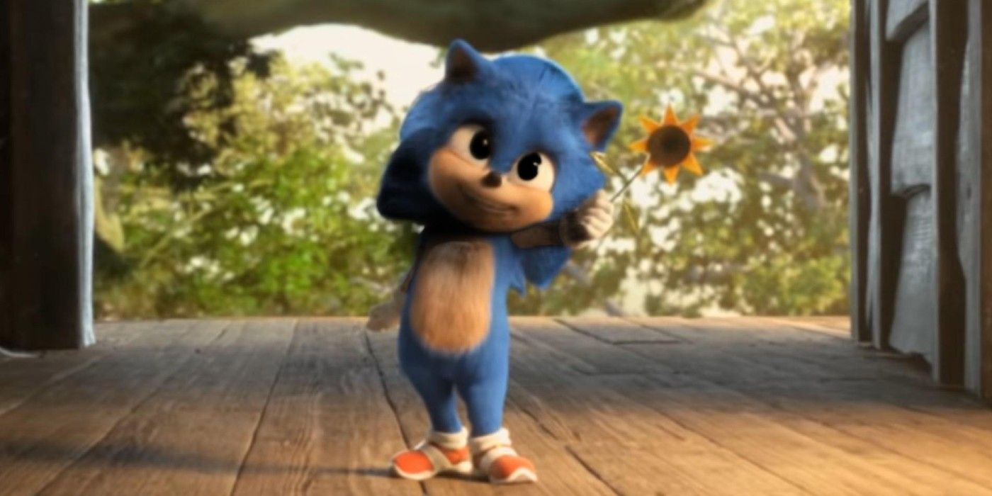Sonic The Hedgehog Deleted Scene Reveals Original Baby Sonic Design