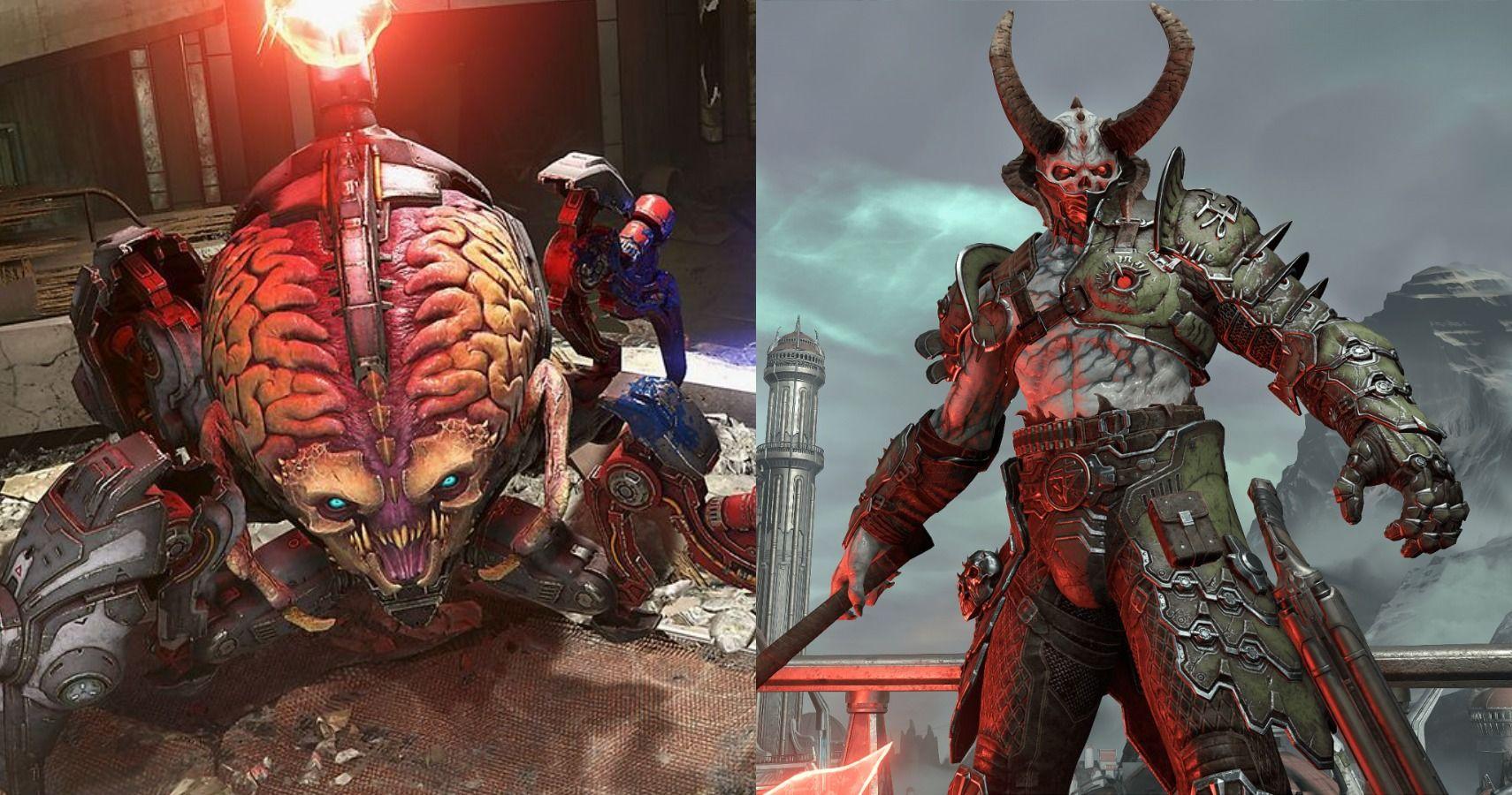 10 Most Horrific Demons In Doom Eternal Game Rant