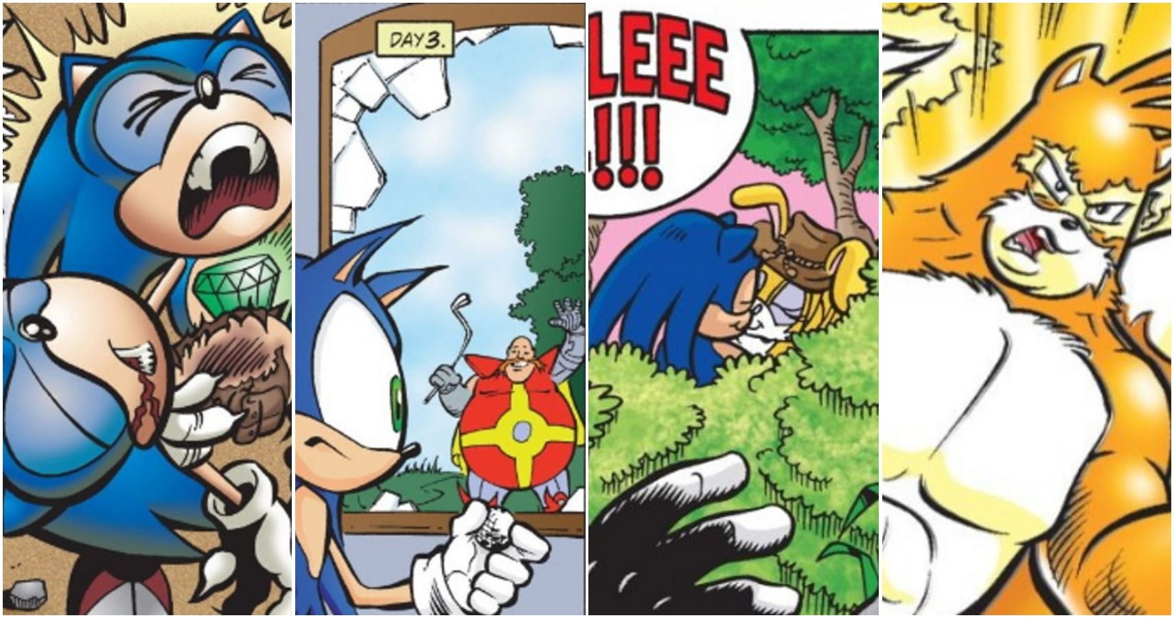 Sonic The Hedgehog The 10 Weirdest Moments In His Comics That Fans Need To Know About