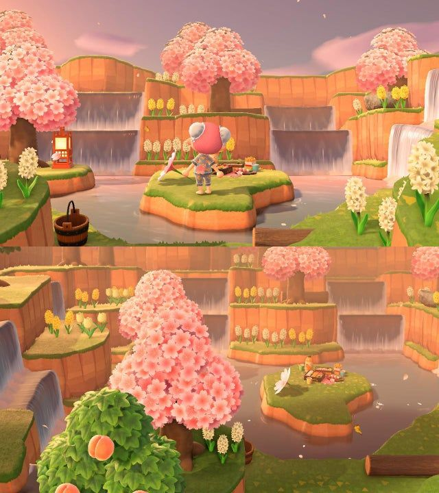 Animal Crossing 10 Amazing Terraforming Makeovers Game Rant