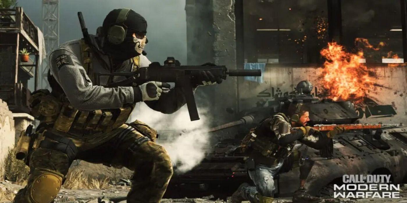 Call Of Duty Modern Warfare Season 3 Adding New Ghost Skin