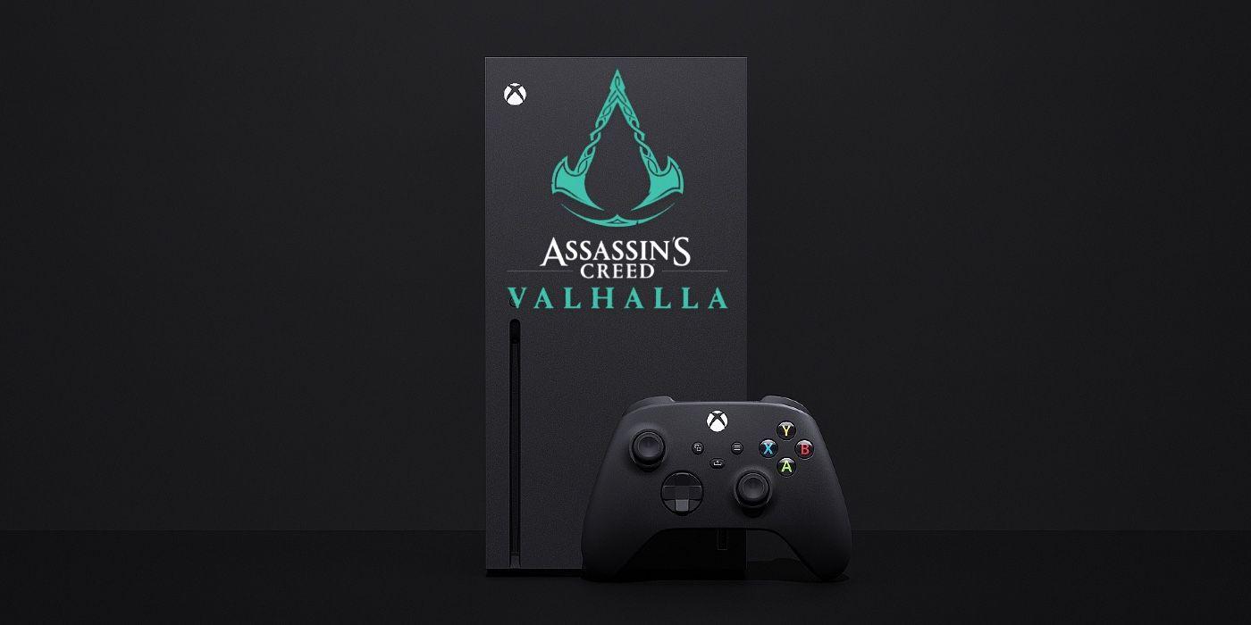 Artist Designs Special Assassin S Creed Valhalla Xbox Series X