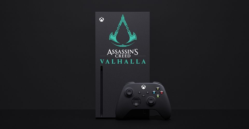 Artist Designs Special Assassin S Creed Valhalla Xbox Series X Looks Incredible