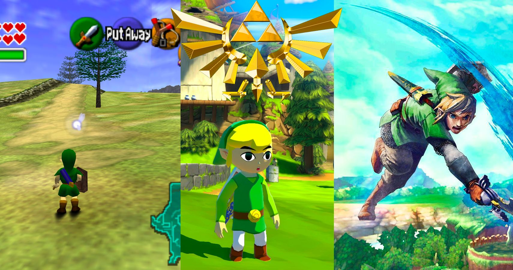 The Legend Of Zelda Every Game Ranked By How Long They Take To Beat