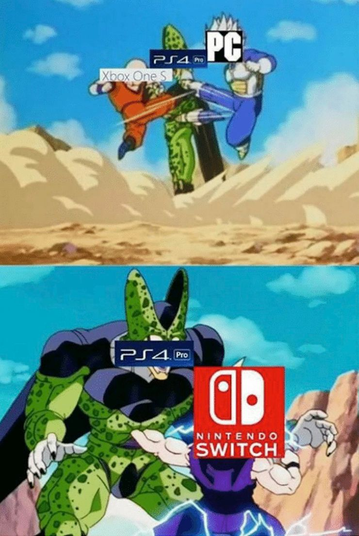 Ps4 Vs Nintendo Switch Memes That Are Too Funny For Words