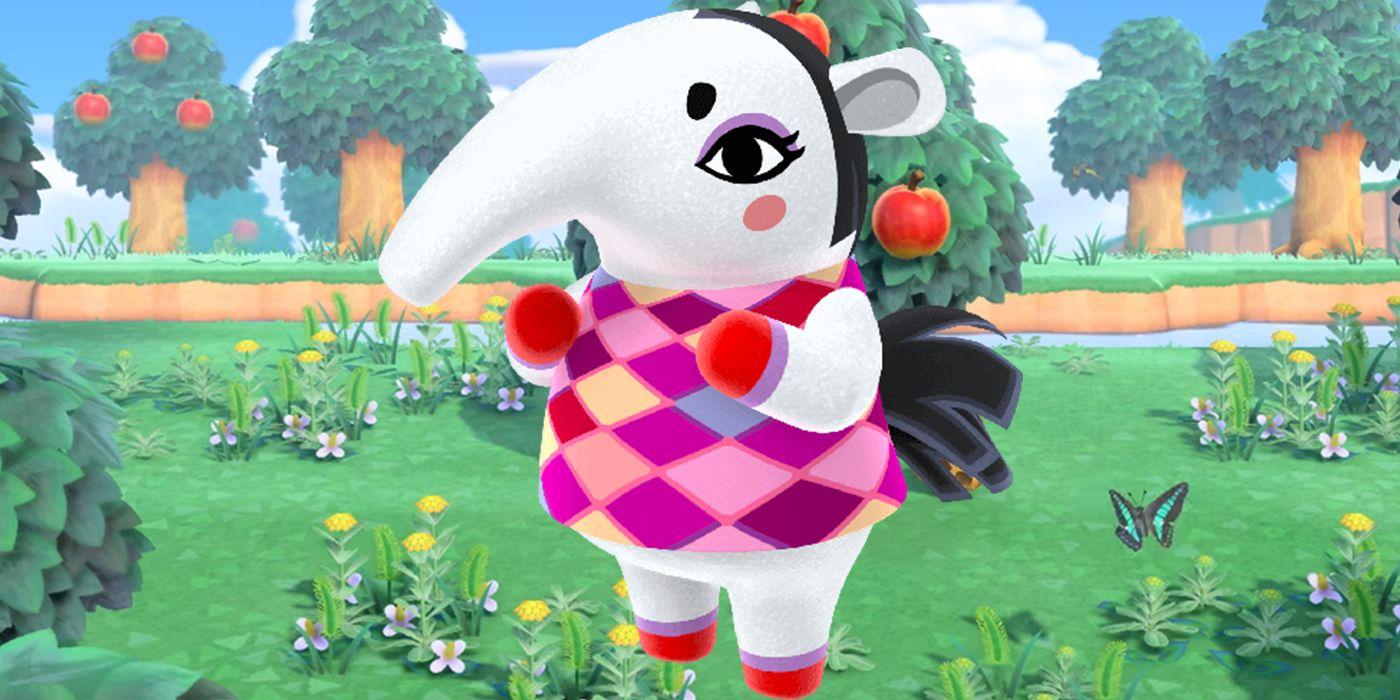 Animal Crossing: New Horizons Anteater Villager Breakdown ...