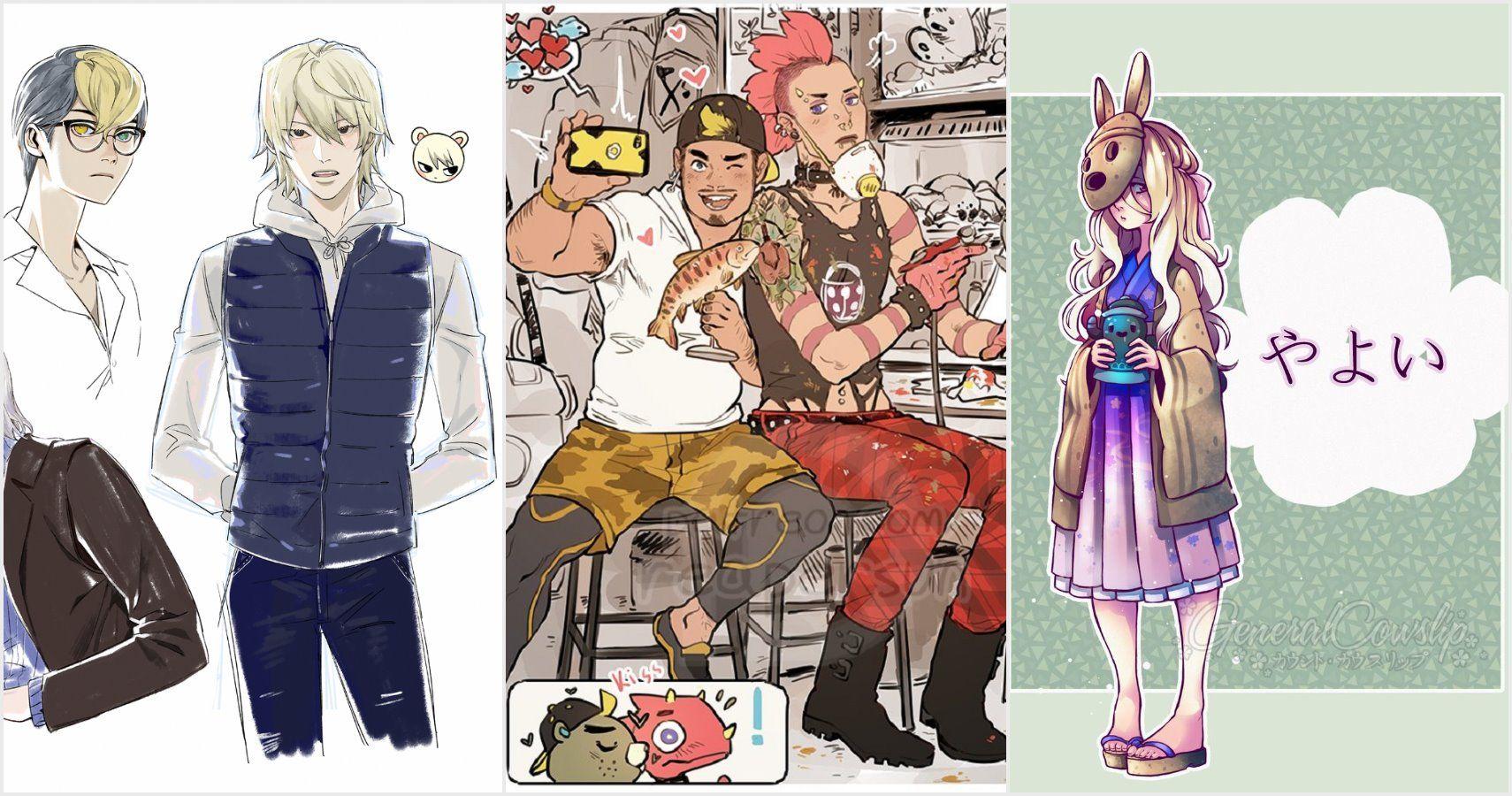 Animal Crossing New Horizons 10 Best Gijinka Fan Art Game Rant