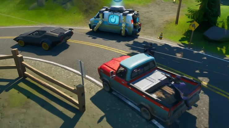 Fortnite Where Are The Cars And Can You Drive Them Game Rant