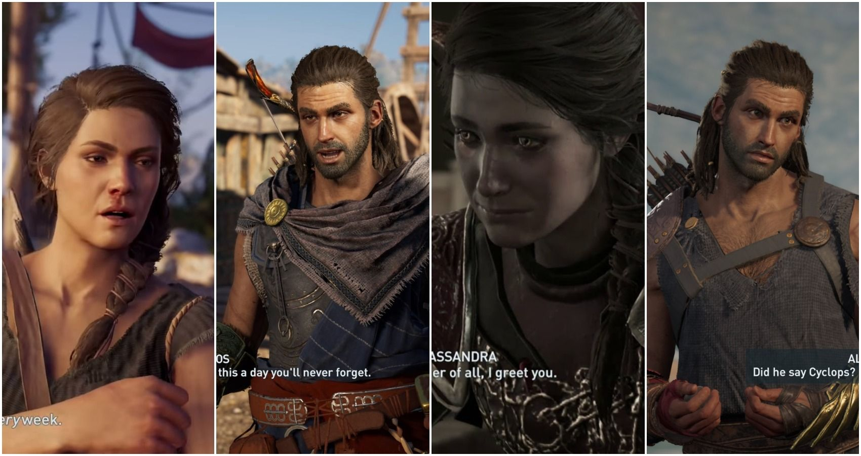 5 Lines In Assassin S Creed Odyssey Kassandra Delivered Best And