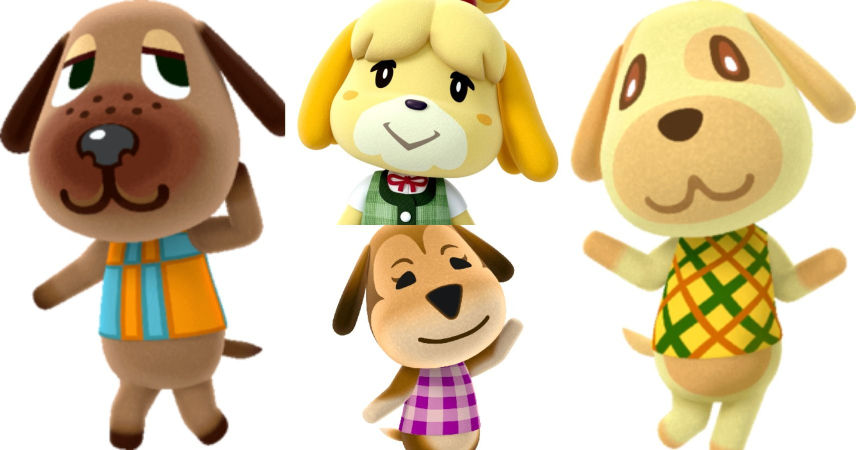 Animal Crossing New Horizons 10 Most Adorable Dog Villagers