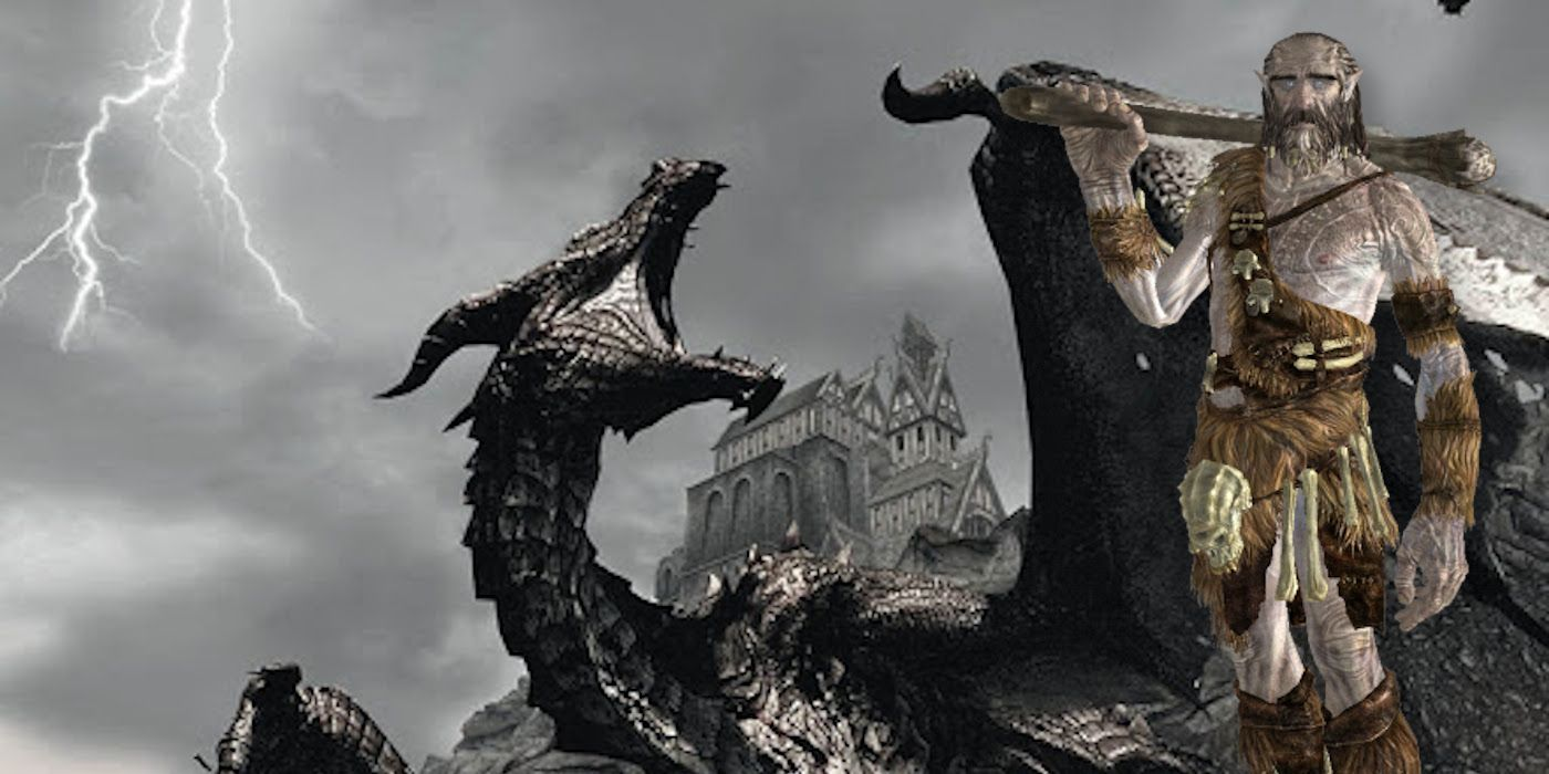 Skyrim Players Keep Finding Giants Riding Dragons | Game Rant