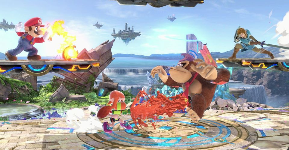 Fortnite Smash Bros Map Super Smash Bros Ultimate Update Adds New Stage Game Rant