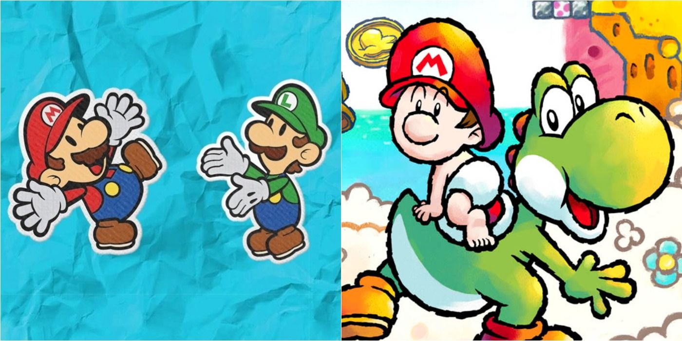 Mario: 10 Best Spinoff Titles (According To Metacritic)