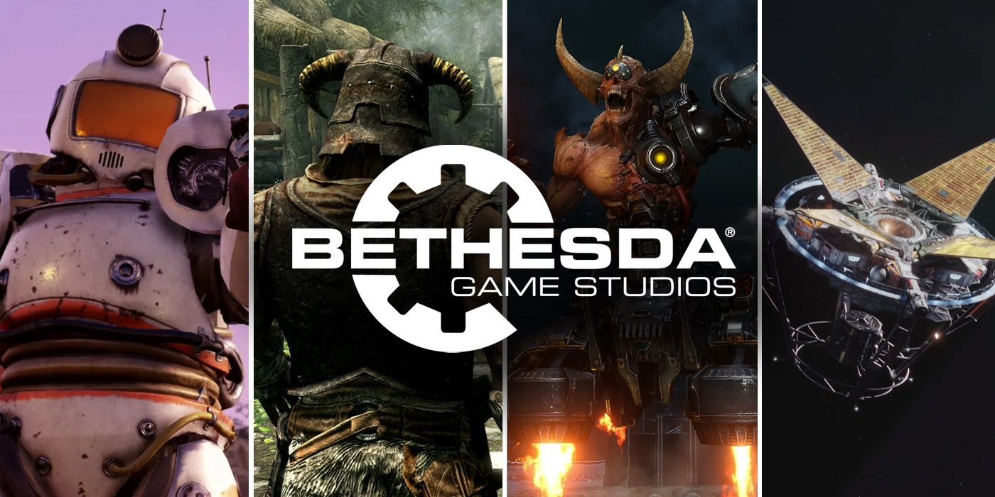 All the Bethesda Video Game Franchises Xbox Now Owns | Game Rant