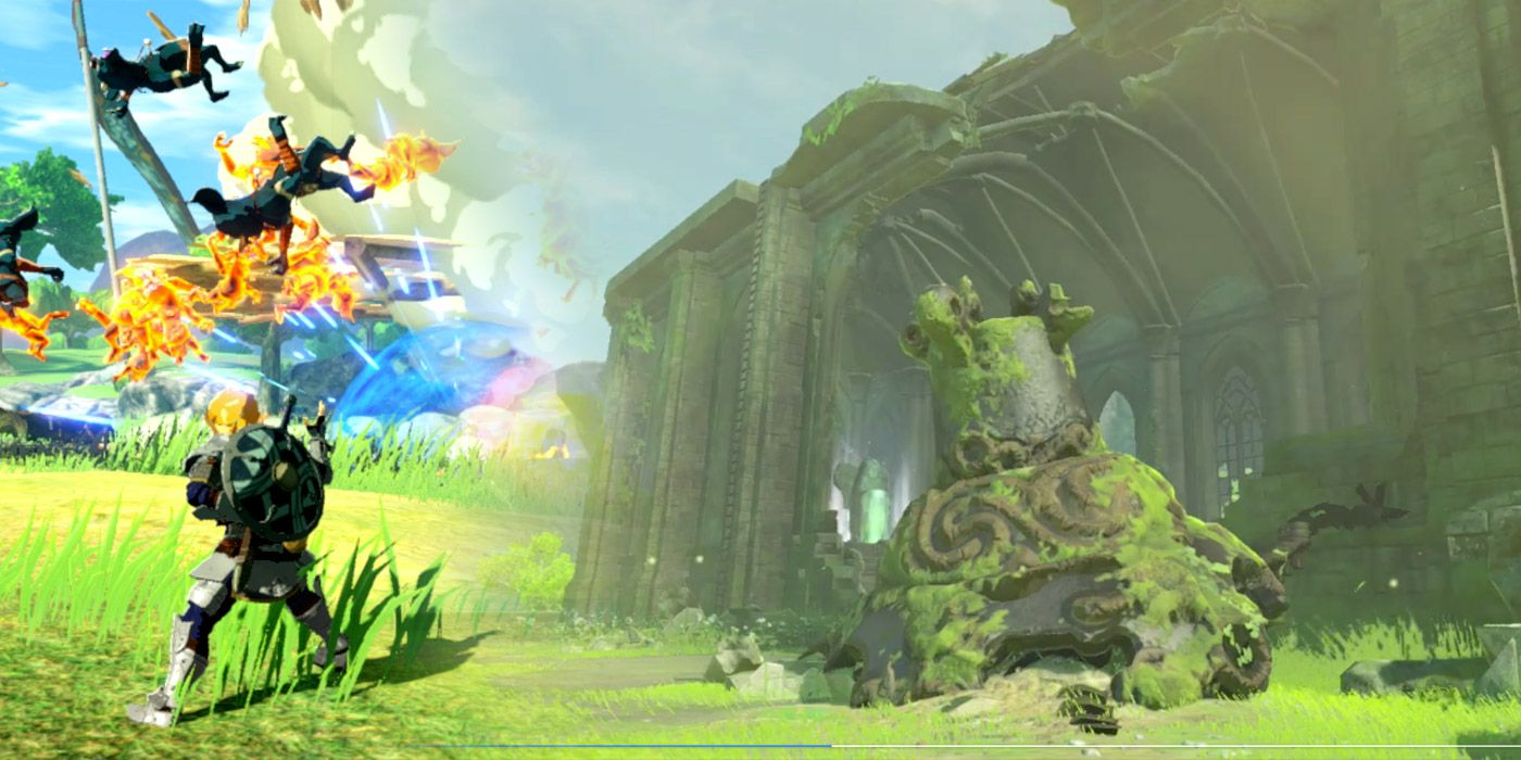 Hyrule Warriors Age Of Calamity Undermines Big Zelda Breath Of The Wild 2 Fan Theory