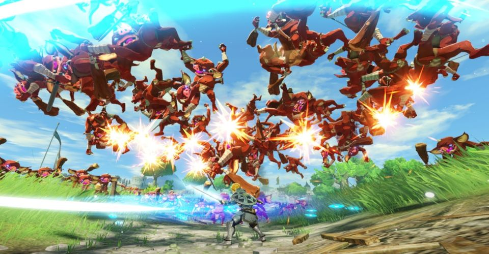 Hyrule Warriors Age Of Calamity Extended Gameplay Sequence Revealed At Tokyo Game Show