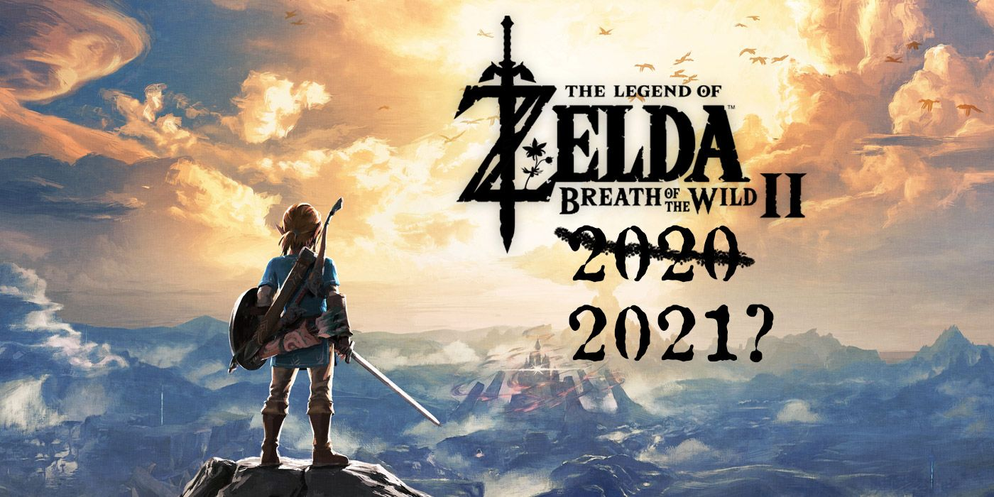 Don't Expect Zelda: Breath of the Wild 2 News Before 2020 Ends