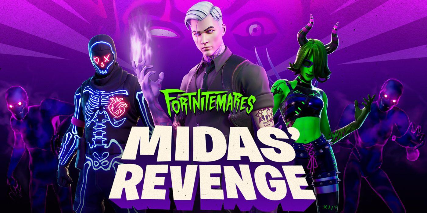 Fortnite Details Halloween 2020 Event Featuring Shadow Midas