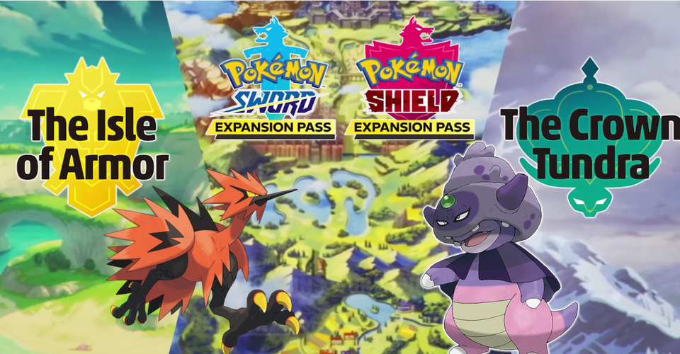 Everything Revealed In The Pokemon Sword And Shield Crown Tundra Trailer