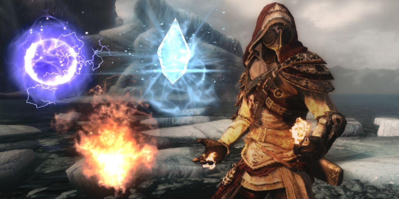 Skyrim: Best Destruction Spells, Ranked    Game Rant