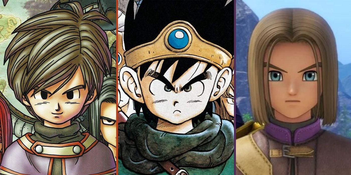 Dragon Quest Every Main Hero From Weakest To Most Powerful Ranked