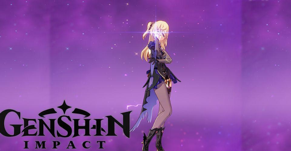 Genshin Impact Best Fischl Build Game Rant