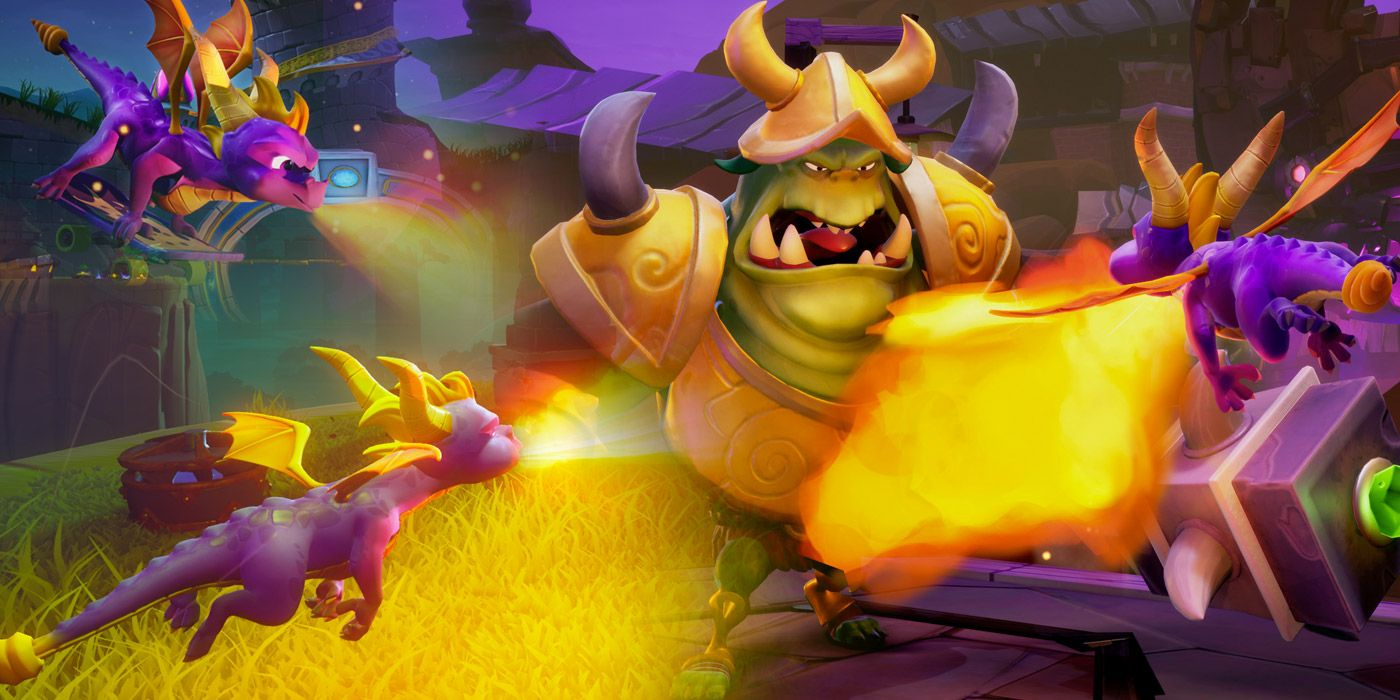 The Best and Worst Spyro Boss Fights | Game Rant