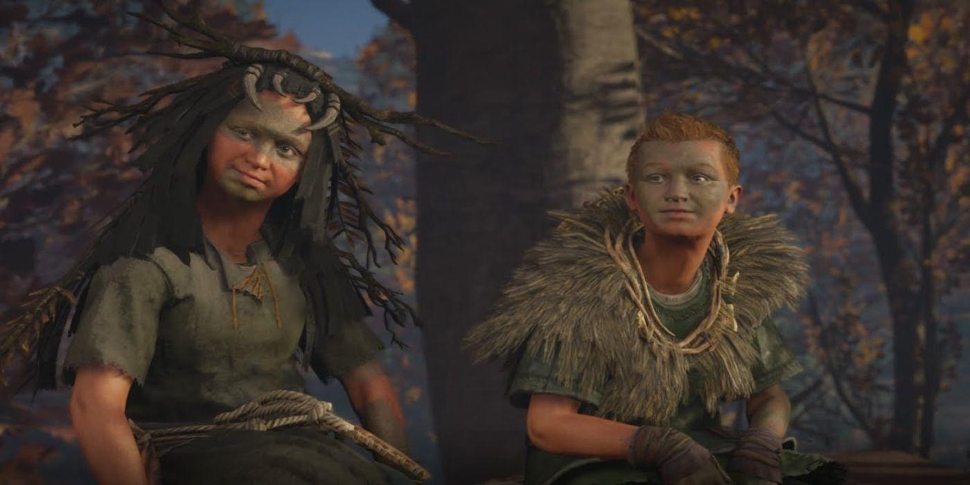 Assassin's Creed Valhalla Bug Makes Children Huge | Game Rant