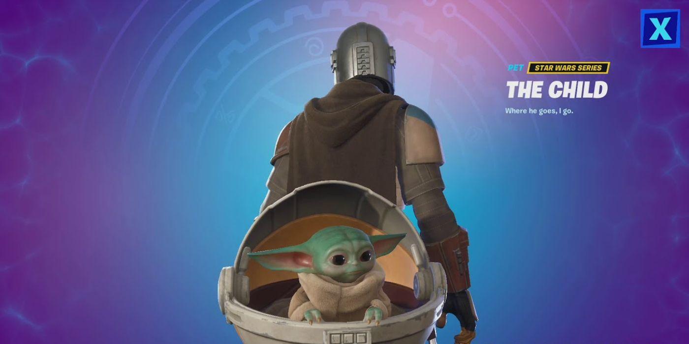 Fortnite How To Unlock Baby Yoda Back Bling Game Rant Fortnite needs baby yoda back bling yesterday. fortnite how to unlock baby yoda back