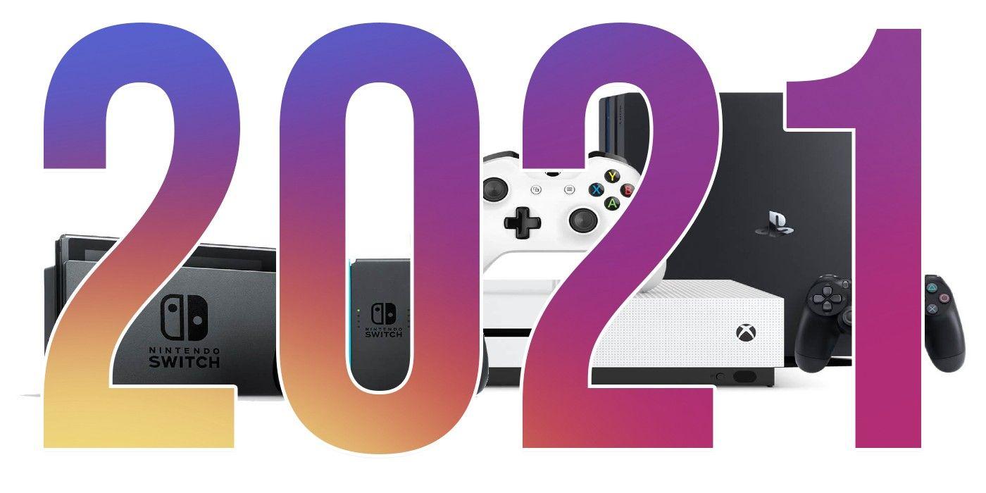2021 in Video Games Calendar | Game Rant