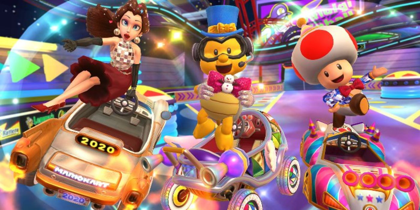Mario Kart Tour S New Year S 2021 Tour Kicks Off Today