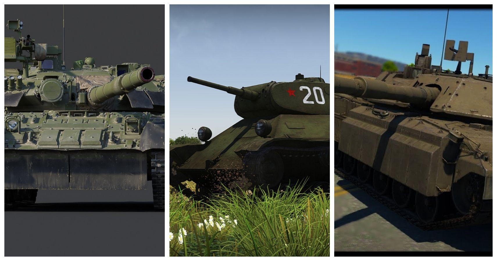 War Thunder Invisible Tanks