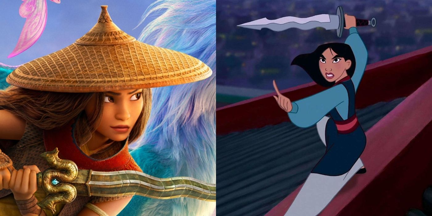 Can 'Raya And The Last Dragon' Avoid Comparisons To Mulan?