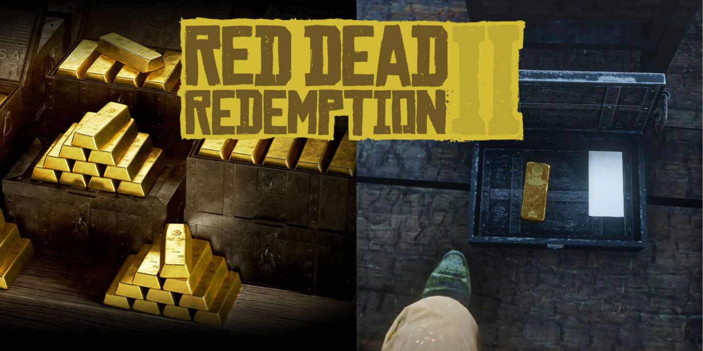 Red Dead Redemption 2: Where To Find & Sell All The Gold Bars