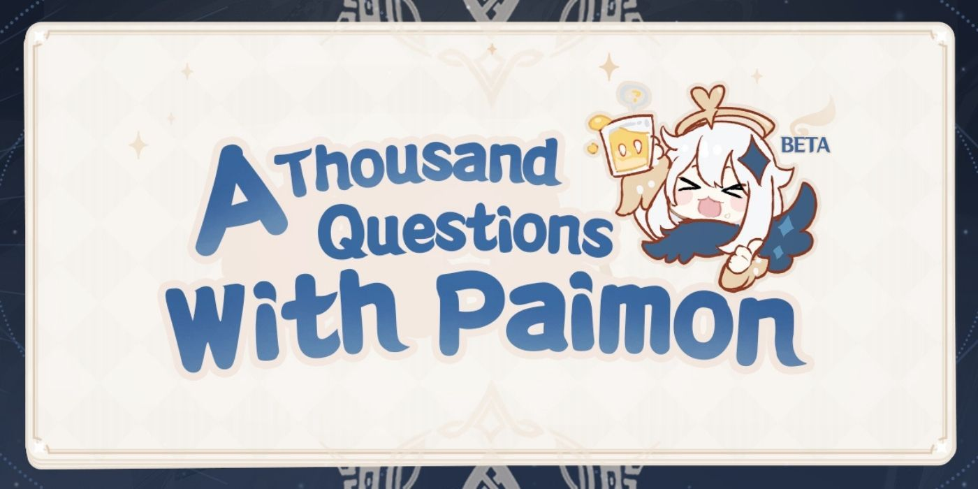 Genshin Impact Thousand Questions with Paimon Quiz Returning